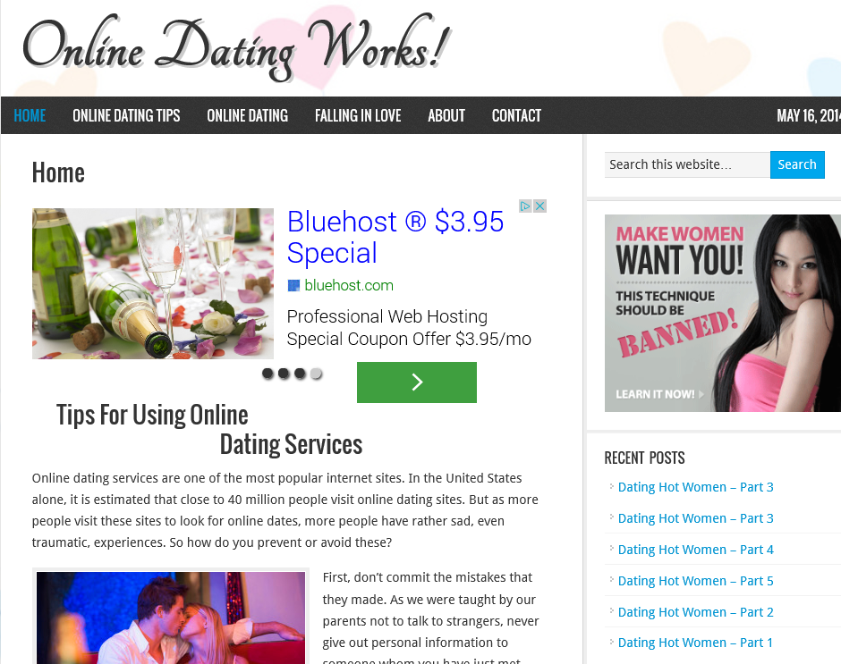 what online dating site works Whether you use a dating app or a website (or both), online dating for the first   in the current profiles, understand that new ones appear daily on popular sites.